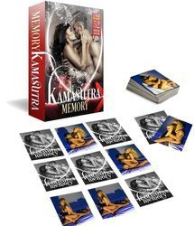 Kamasutra Memory - erotyczna gra karciana