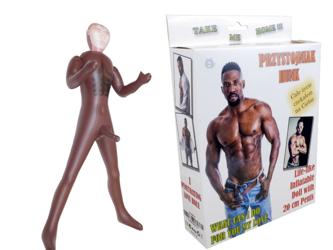 Lalka Przystojniak Hunk Male Doll (z 20 cm penisem)