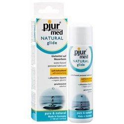 Pjur - Med Natural Glide 100 ml - lubrykant na bazie wody
